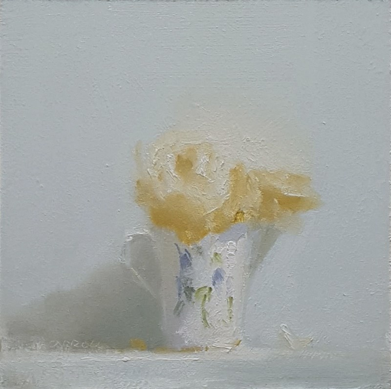 """Cup of Roses"" original fine art by Neil Carroll"