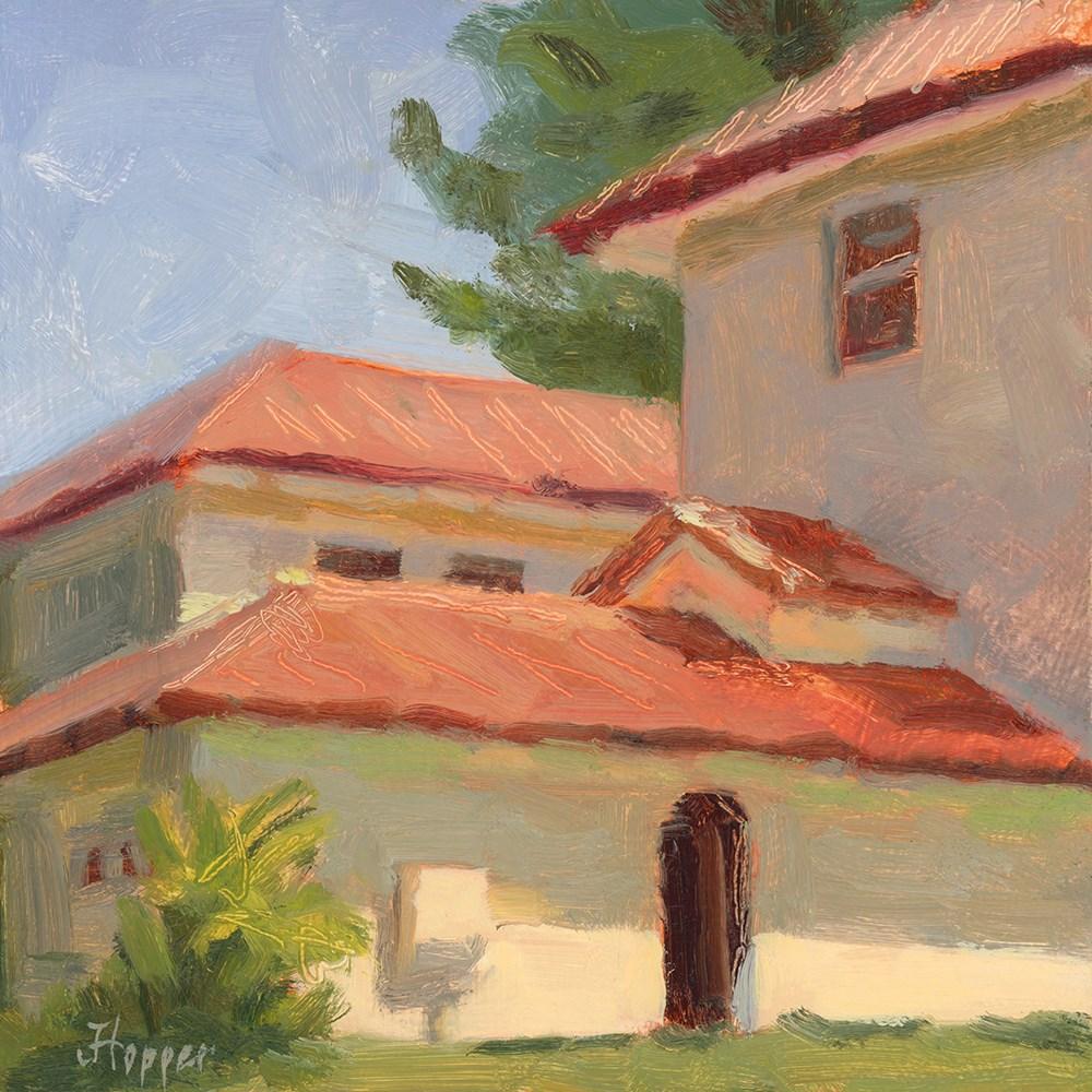 """""""Hui Oil Study"""" original fine art by Joanne Hopper"""