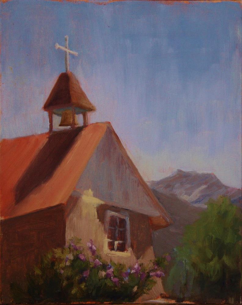 """Church of the Most Holy Trinity"" original fine art by Sheila Marie"