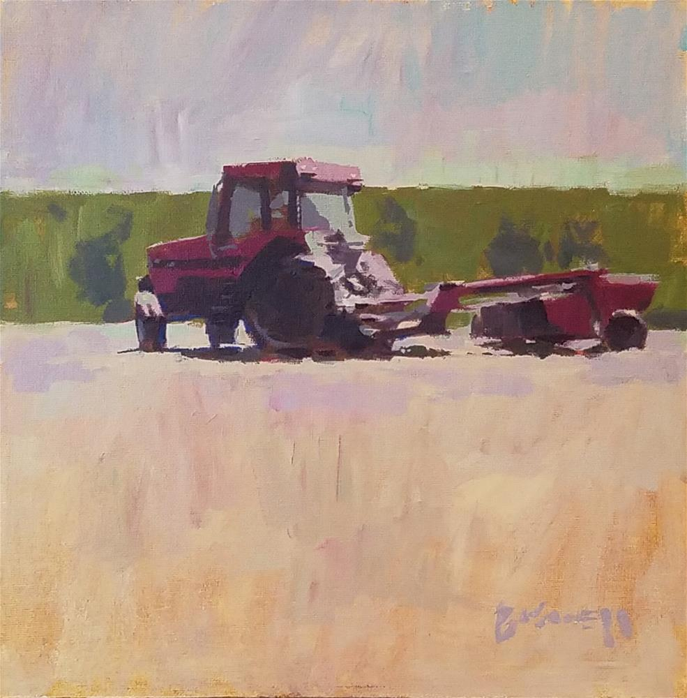 """Summer Glean"" original fine art by Roy Boswell"