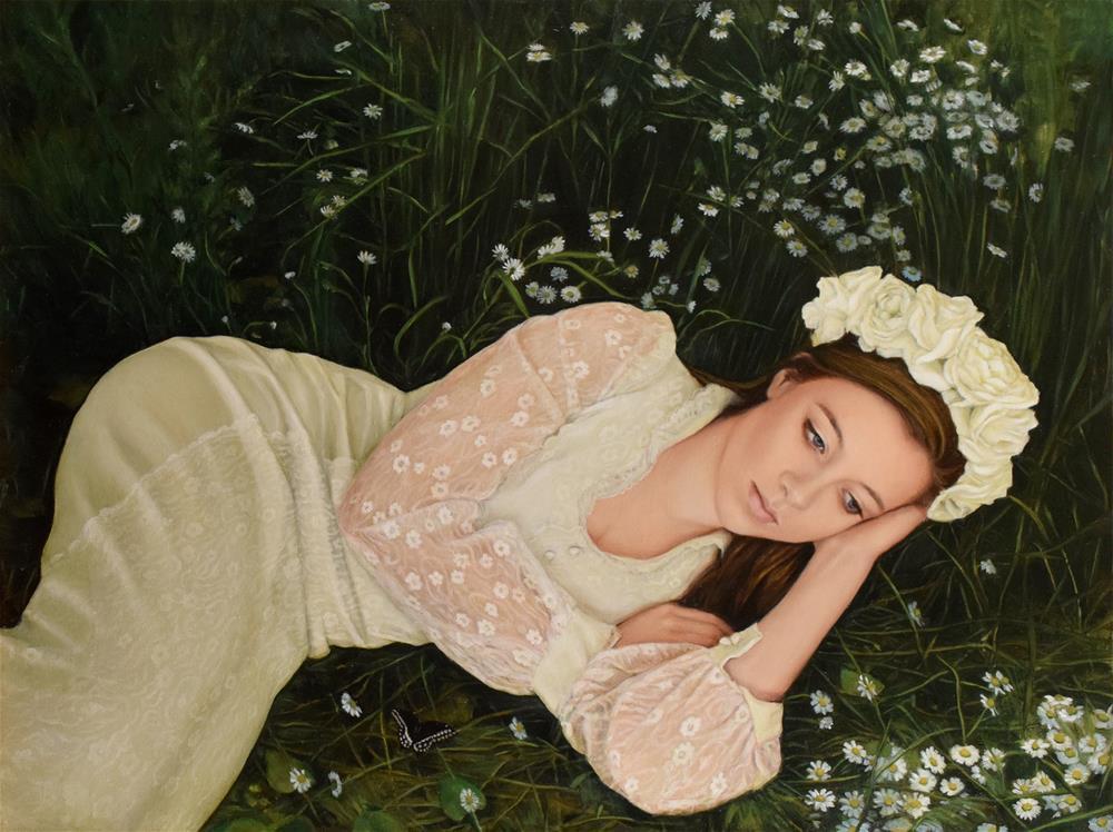 """In the Elysian Fields"" original fine art by Kathleen Carr"