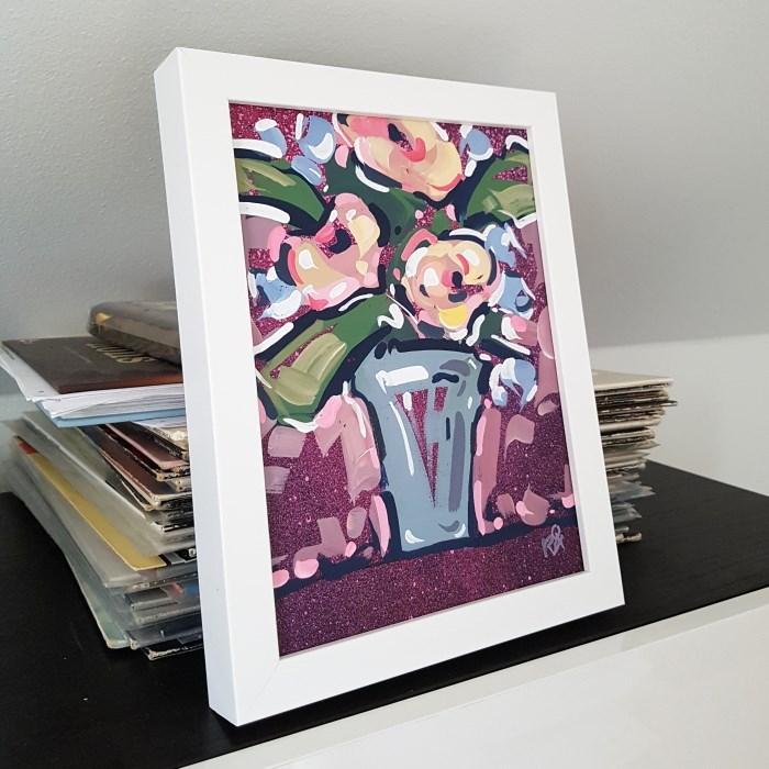 """Flower Exploration 29"" original fine art by Roger Akesson"