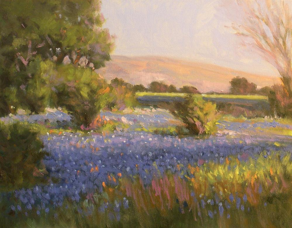 """Sunny Morning"" original fine art by David Forks"