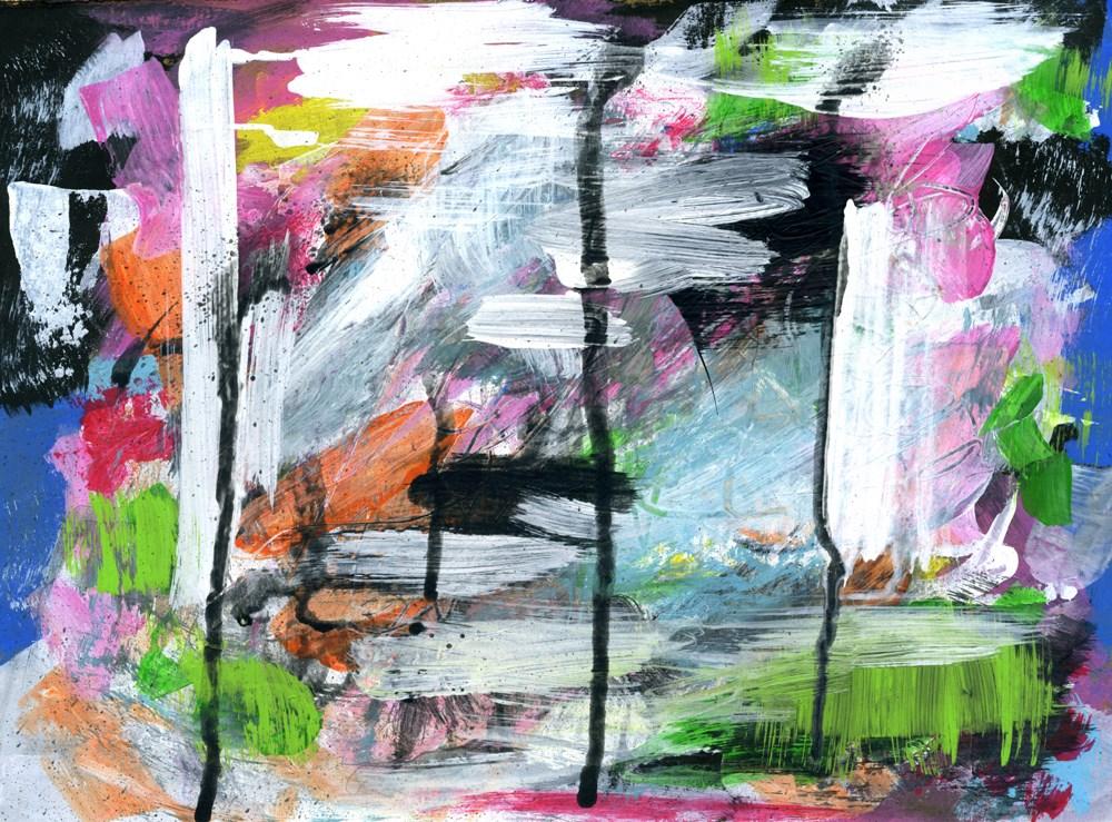 """The Wonder of Color"" original fine art by Kali Parsons"