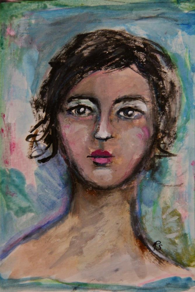 """Valentina"" original fine art by Roberta Schmidt"