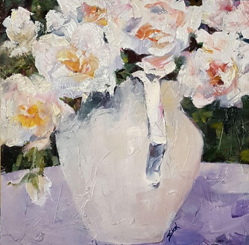 """""""Summer Joy"""" original fine art by Sue Dion"""
