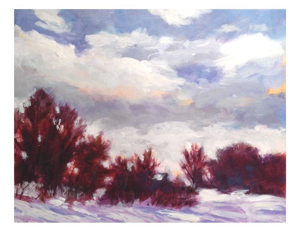 """The Trail"" original fine art by Suzanne Woodward"