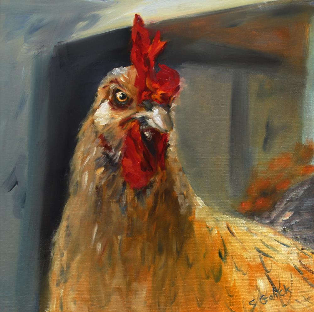 """""""Major Attitude!"""" original fine art by Susan Galick"""