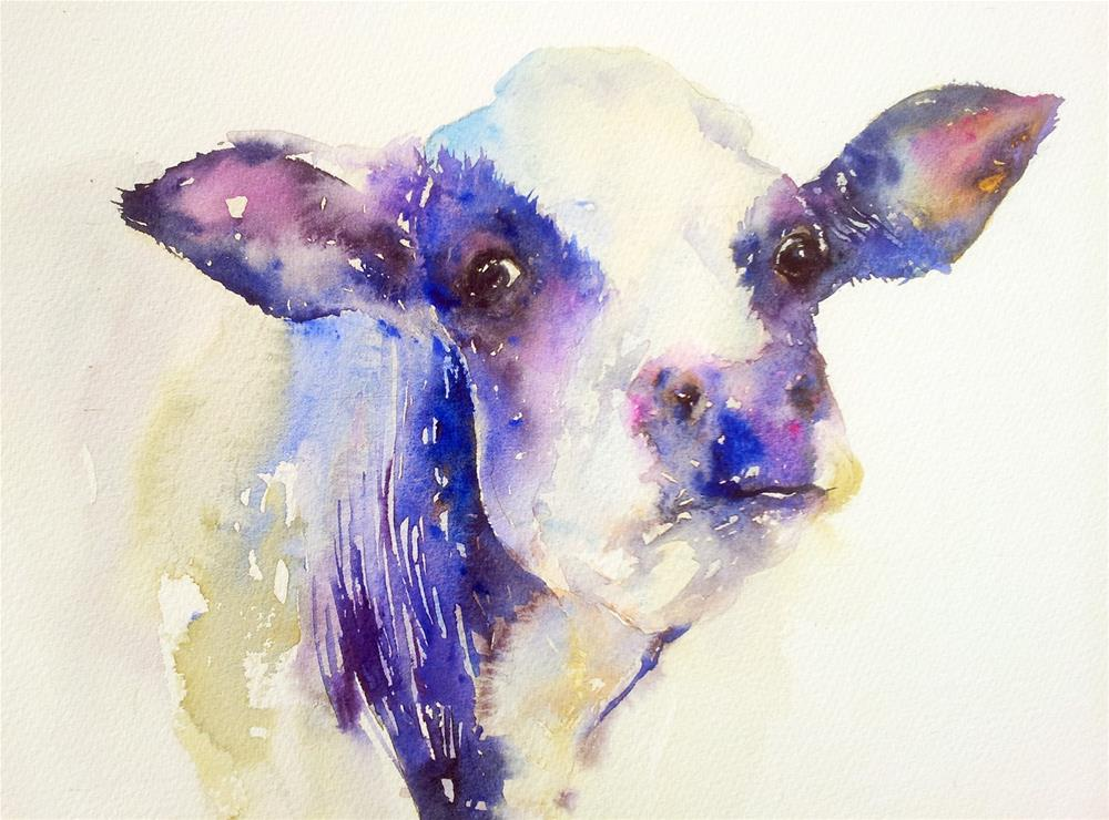 """Dairy Milk"" original fine art by Arti Chauhan"