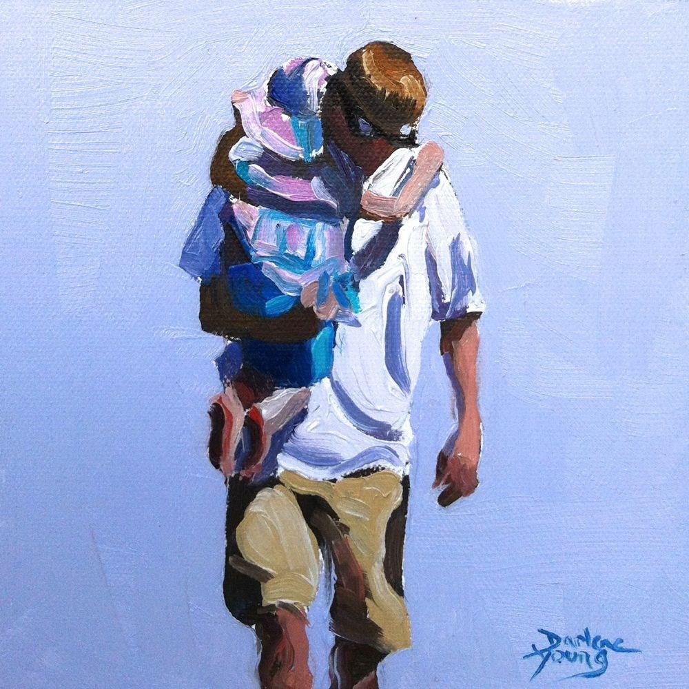 """""""543 Precious Cargo"""" original fine art by Darlene Young"""