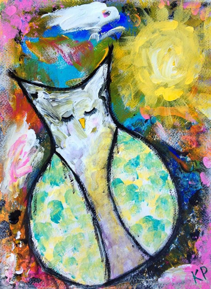 """Sleep by Day"" original fine art by Kali Parsons"