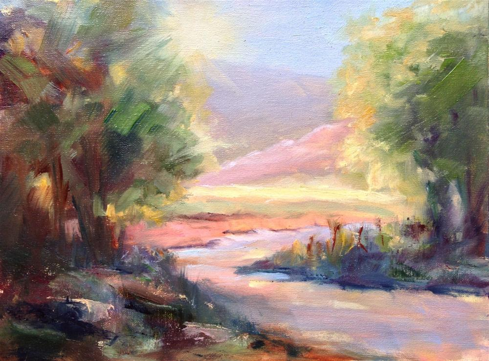 """Early Show, Prude Ranch"" original fine art by Kathleen Squires"