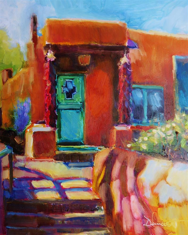 """Canyon Road Colors"" original fine art by Scarlet Owl Studio"
