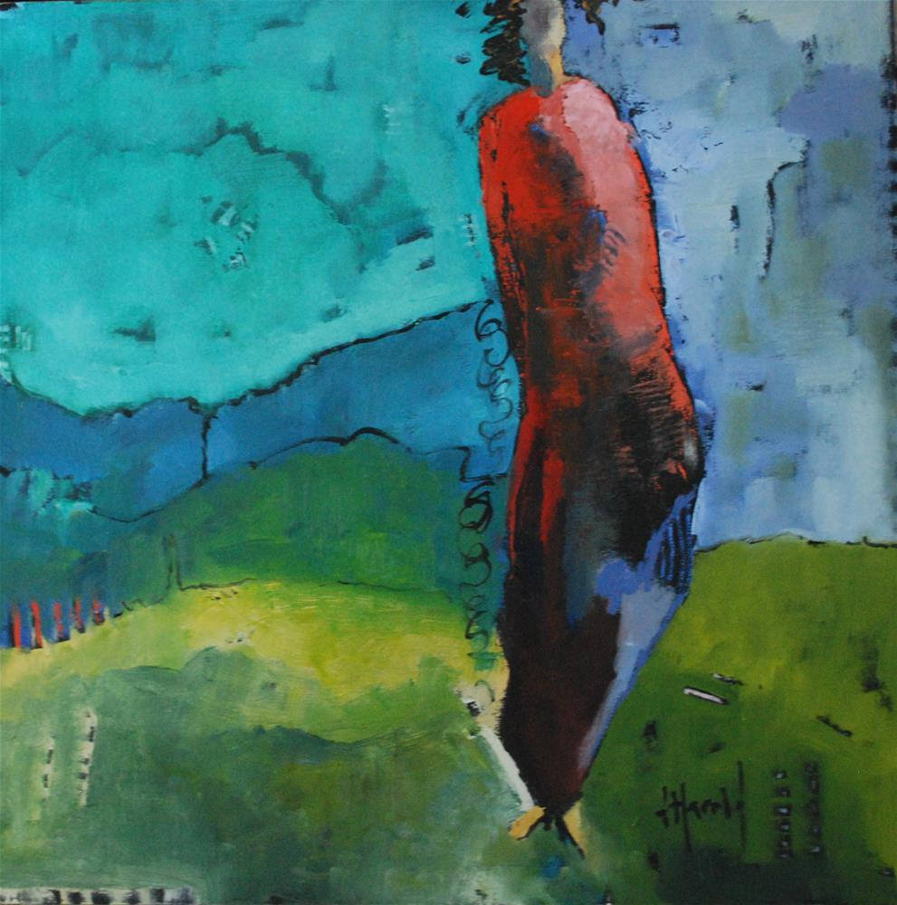 """Out To Pasture"" original fine art by Deborah Harold"
