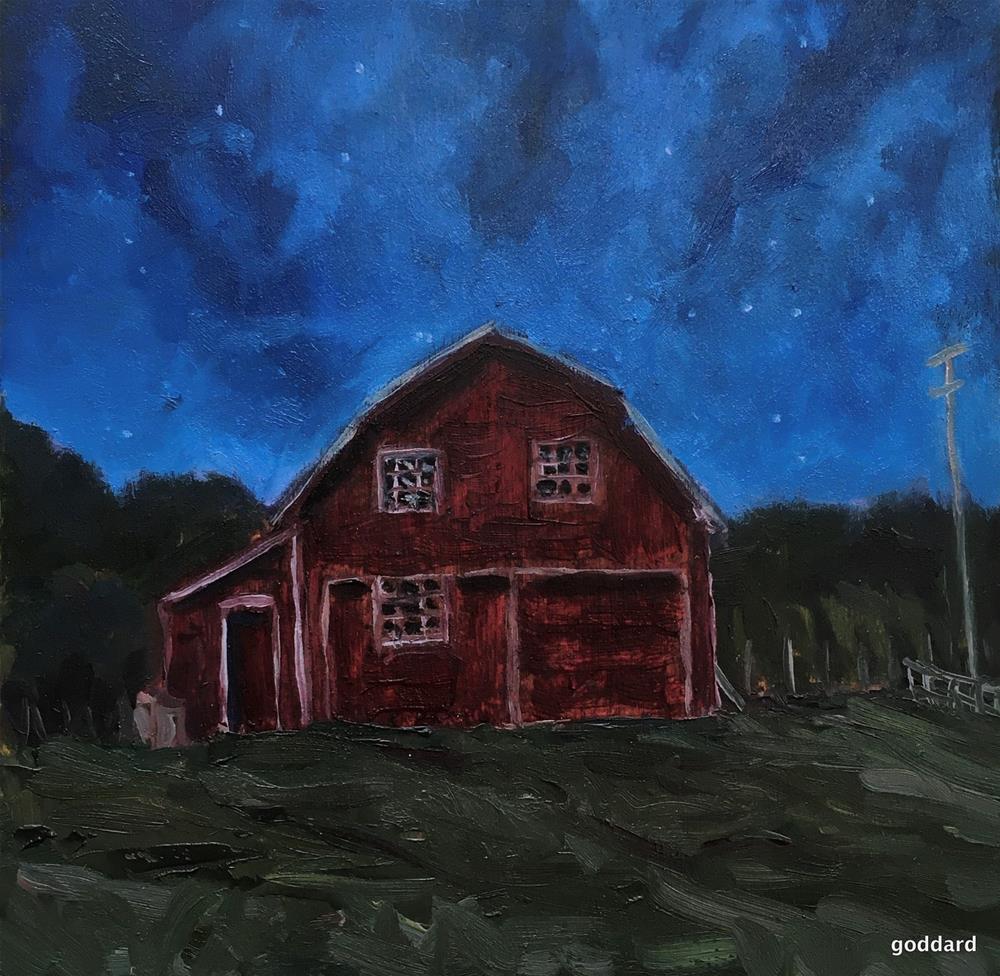 """Starstruck"" original fine art by Shari Goddard Shambaugh"