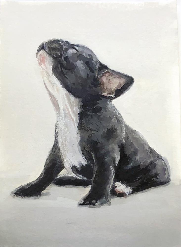 """""""Baby Howler"""" original fine art by Sunny Avocado"""