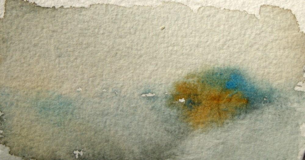 """Gray Field"" original fine art by Amy Bryce"