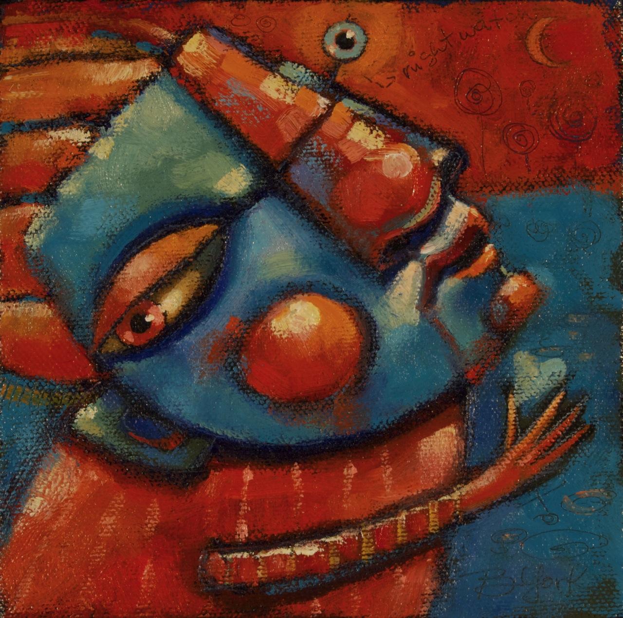 """Paramour"" original fine art by Brenda York"