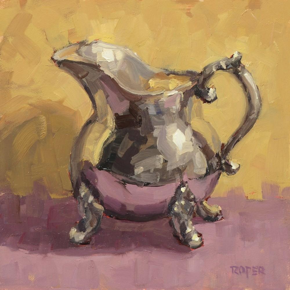 """Little Silver Creamer"" original fine art by Stuart Roper"