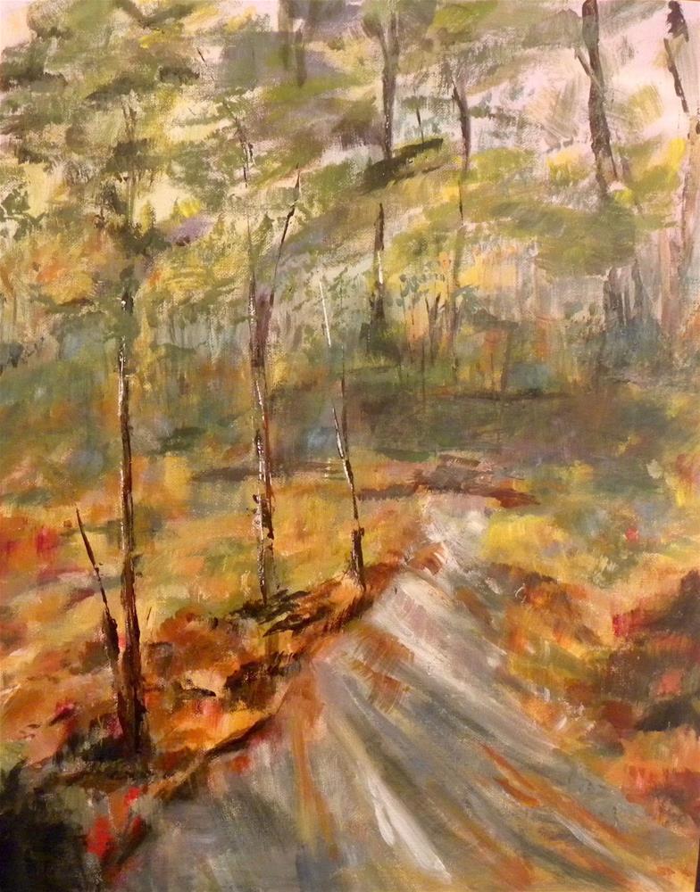 """Sunstreak"" original fine art by cheryl buhrman"