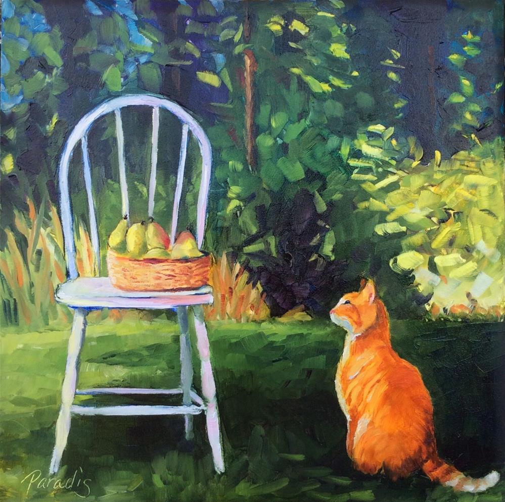 """Curiosity Is a Good Thing"" original fine art by Rita Paradis"