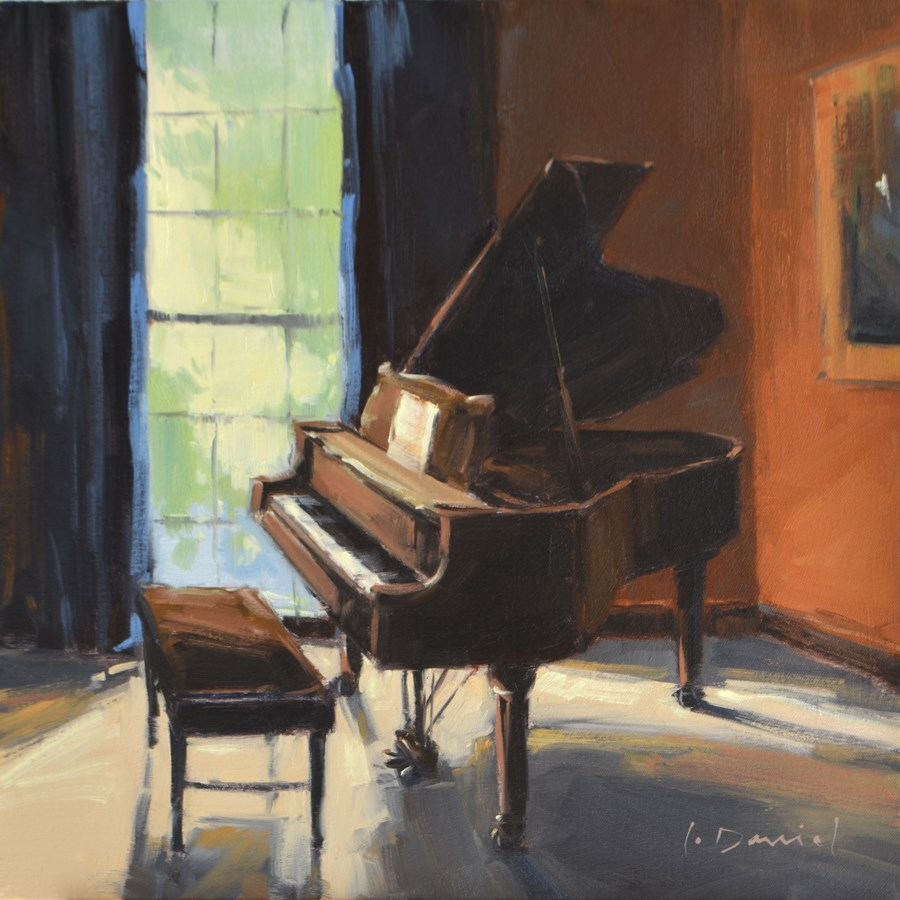 """""""Let There Be Songs - Show Tip #17"""" original fine art by Laurel Daniel"""