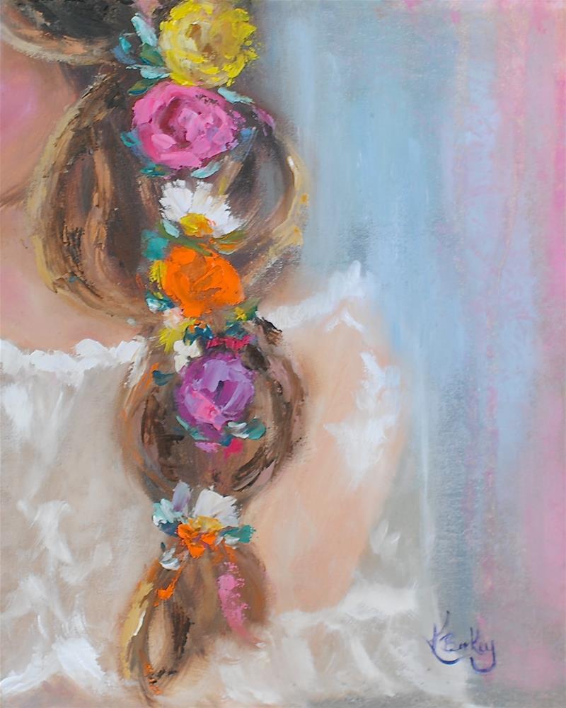 """Vintage Lace"" original fine art by Kelly Berkey"
