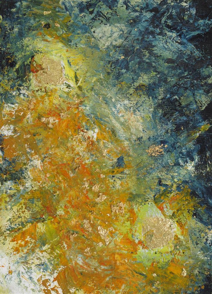 """Fire burst"" original fine art by Anna Starkova"
