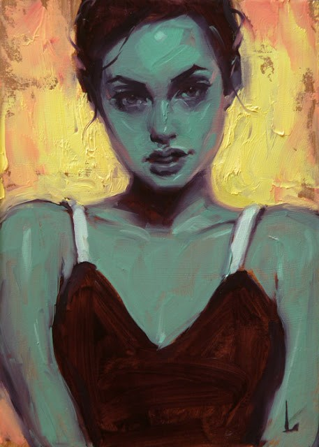 """Firebrand"" original fine art by John Larriva"