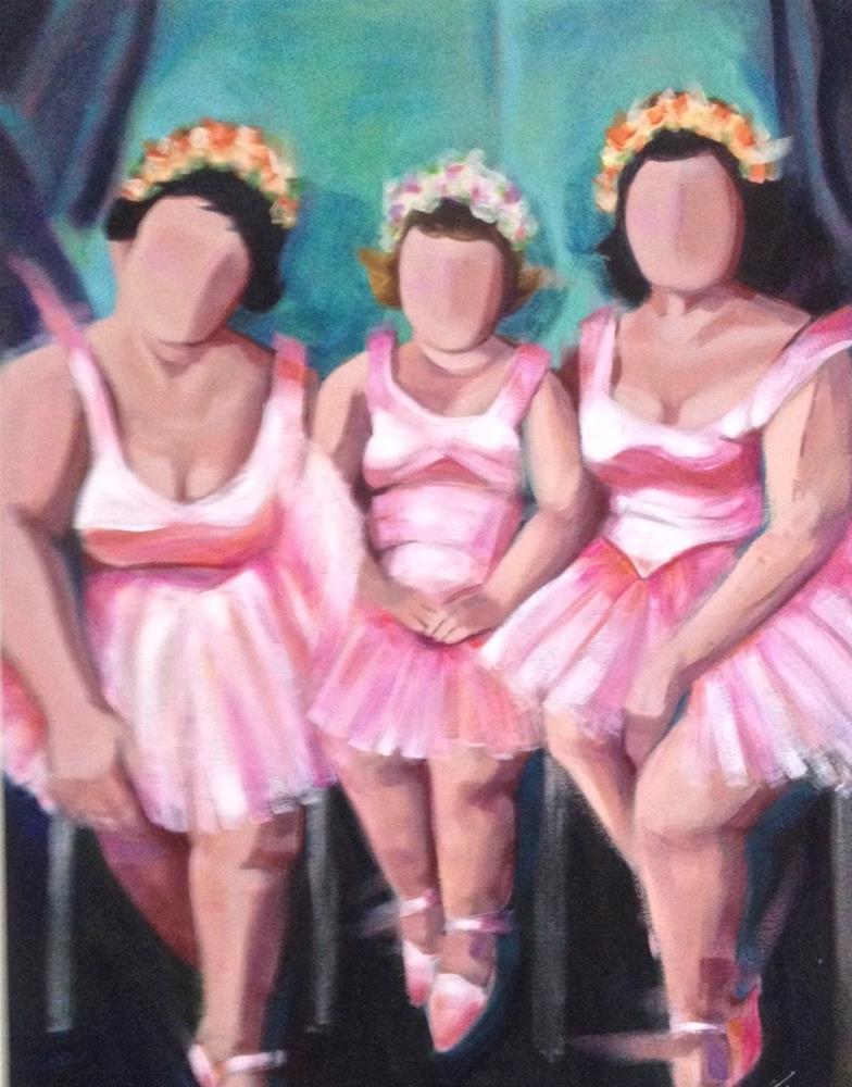 """""""Prima Donnas"""" original fine art by Bev Thibault"""