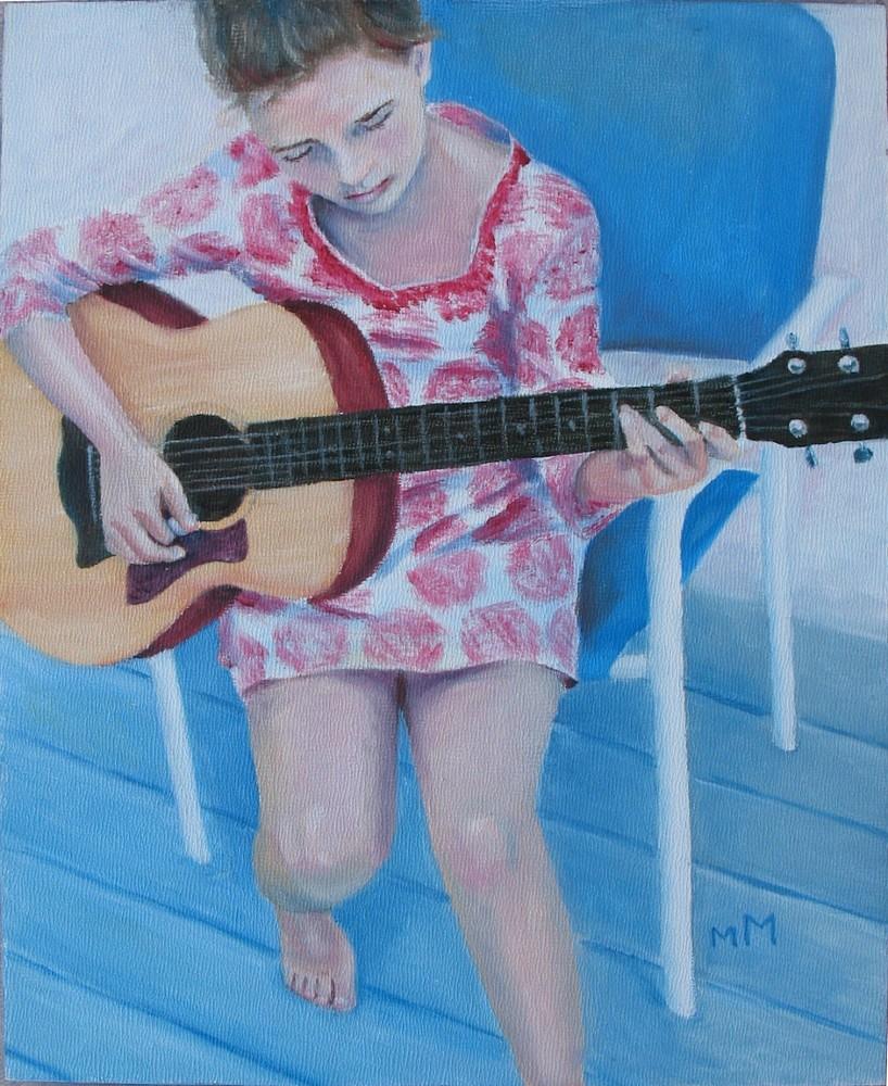 """Her New Love"" original fine art by Melisa McCurley"