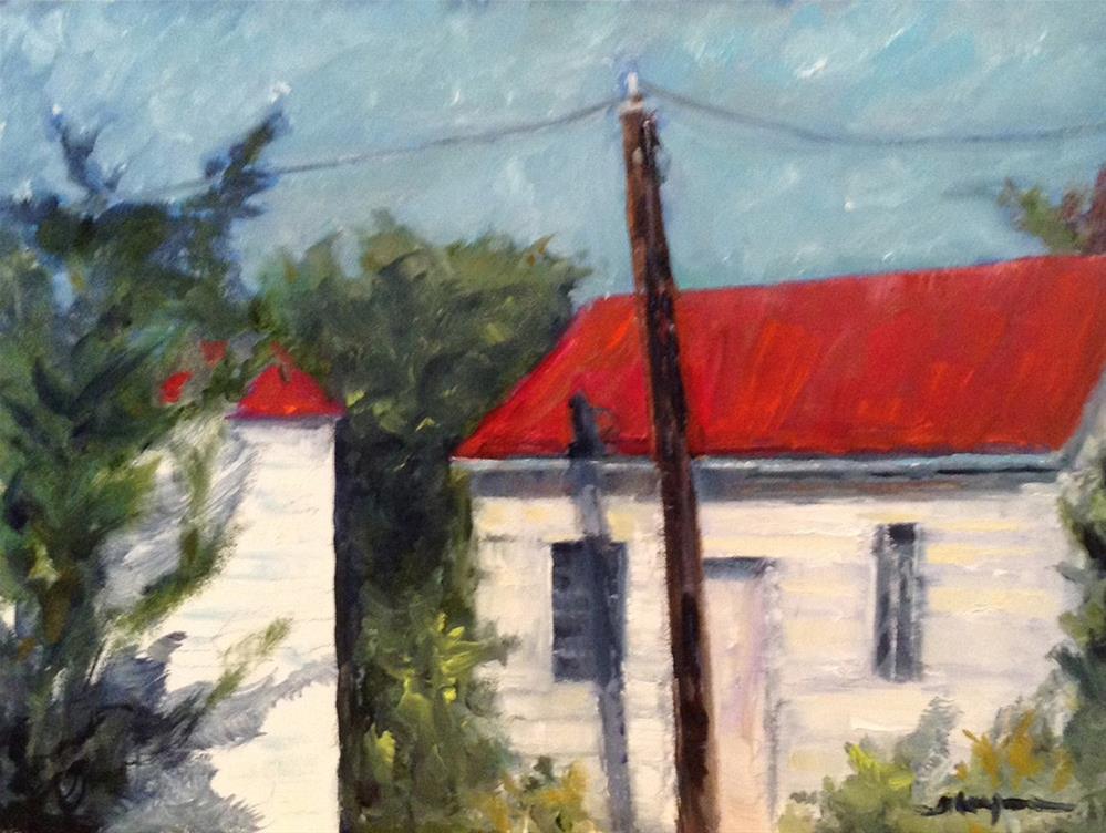 """Late Day Shadows"" original fine art by Shelley Koopmann"