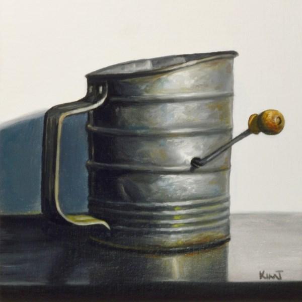 """Grandma's Vintage Flour Sifter"" original fine art by Kim Testone"