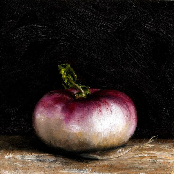 """Turnip #2"" original fine art by Peter J Sandford"