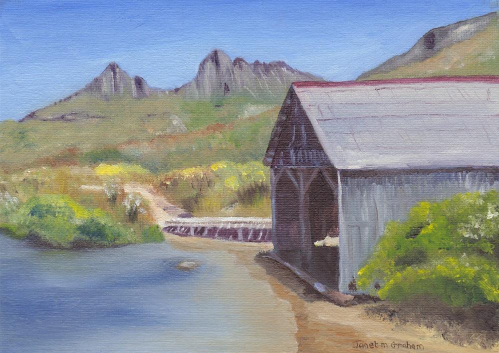 """Cradle Mountain, Tasmania"" original fine art by Janet Graham"