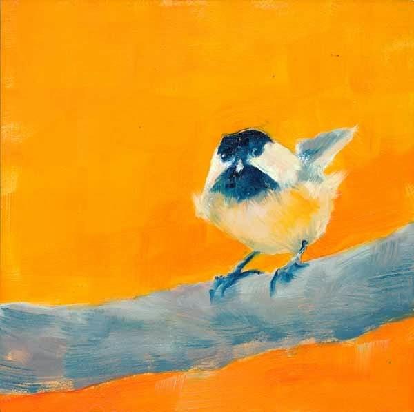 """""""You Chick"""" original fine art by Brenda Ferguson"""