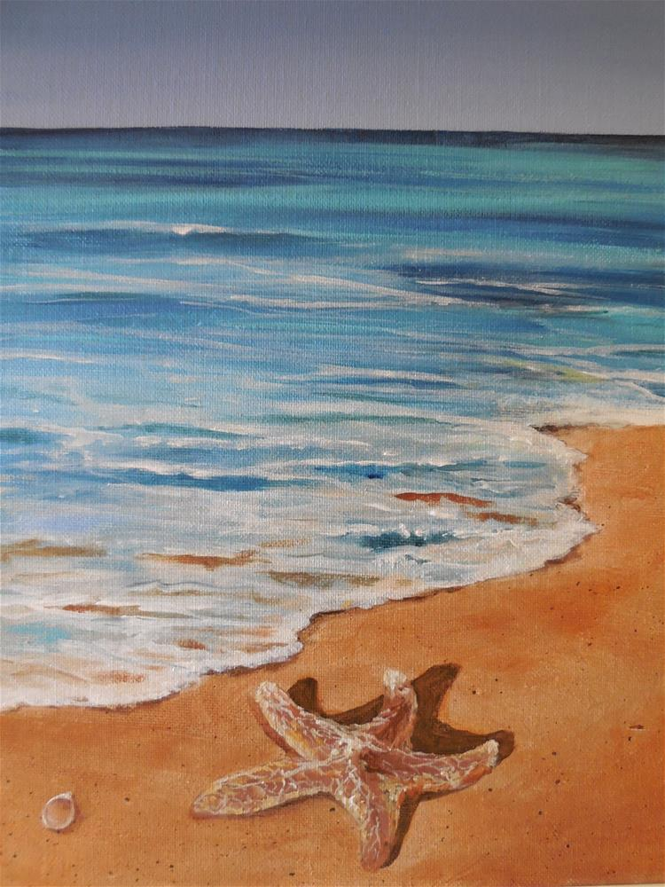 """Starfish"" original fine art by Terri Nicholson"