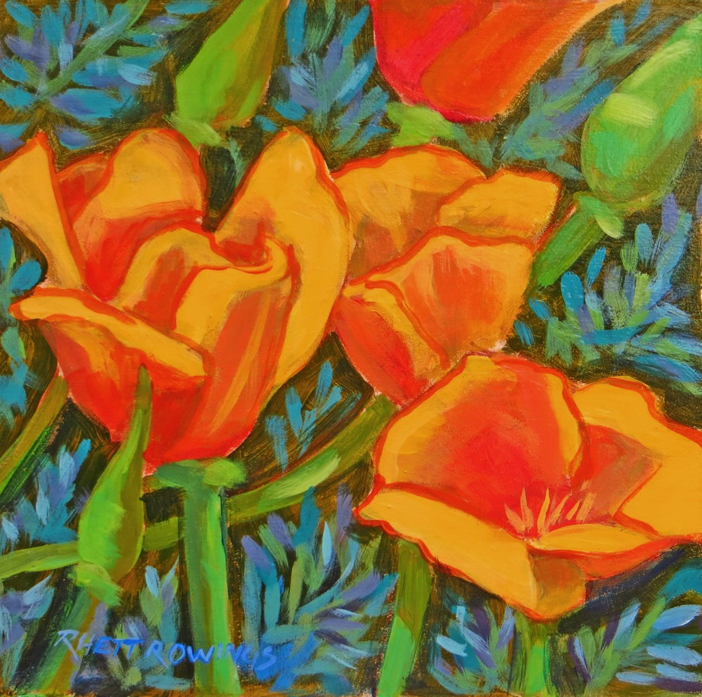 """Spread a Little Sunshine"" original fine art by Rhett Regina Owings"