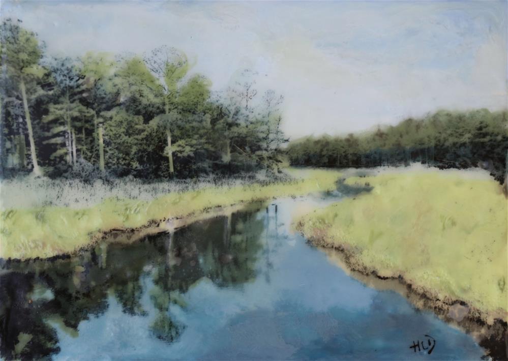 """Cape Henlopen"" original fine art by Heather Douglas"