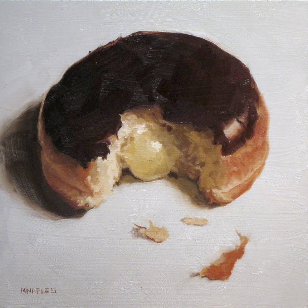 """Cream Filled"" original fine art by Michael Naples"