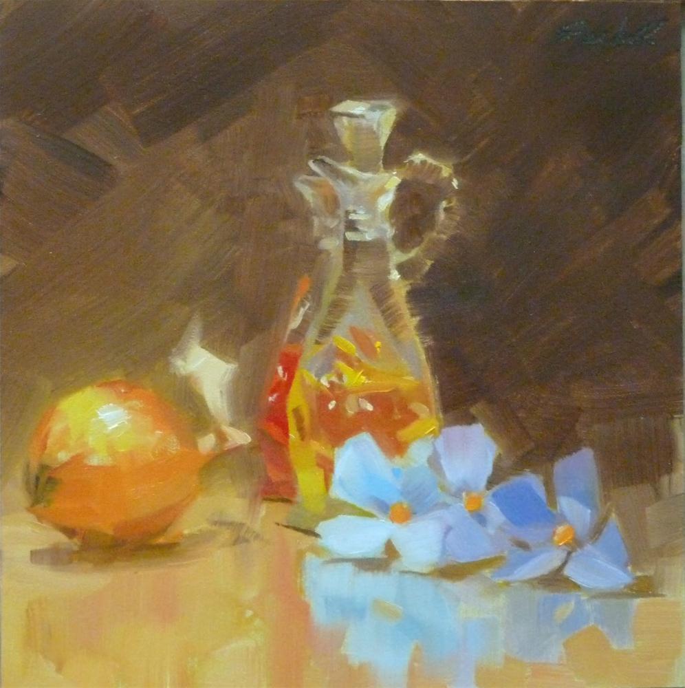 """""""Vinegar & Oil Set"""" original fine art by Ron Ferkol"""