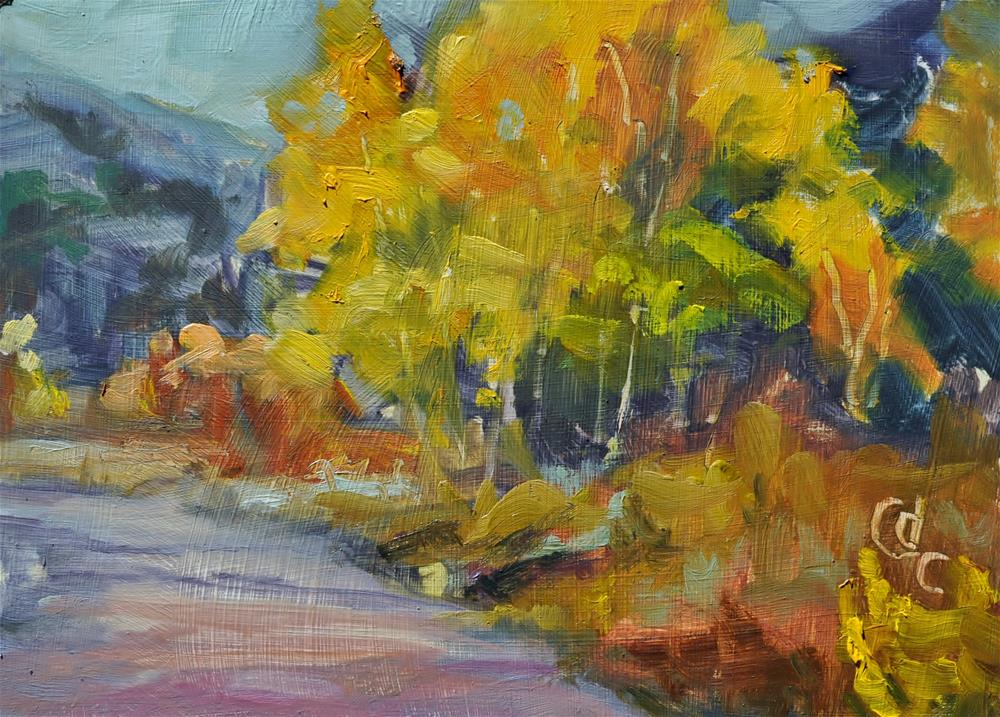 """Sunday Drive"" original fine art by Catherine Crookston"