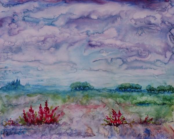 """Cloud Illusions"" original fine art by Jana Johnson"