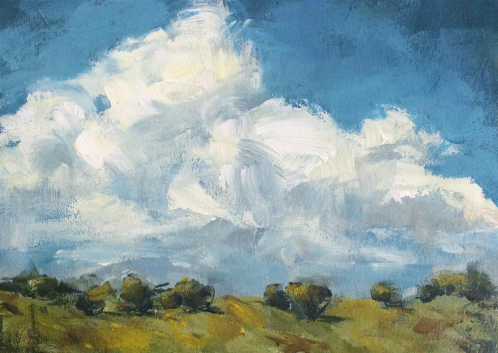 """""""Tiny Trees"""" original fine art by Shannon Bauer"""