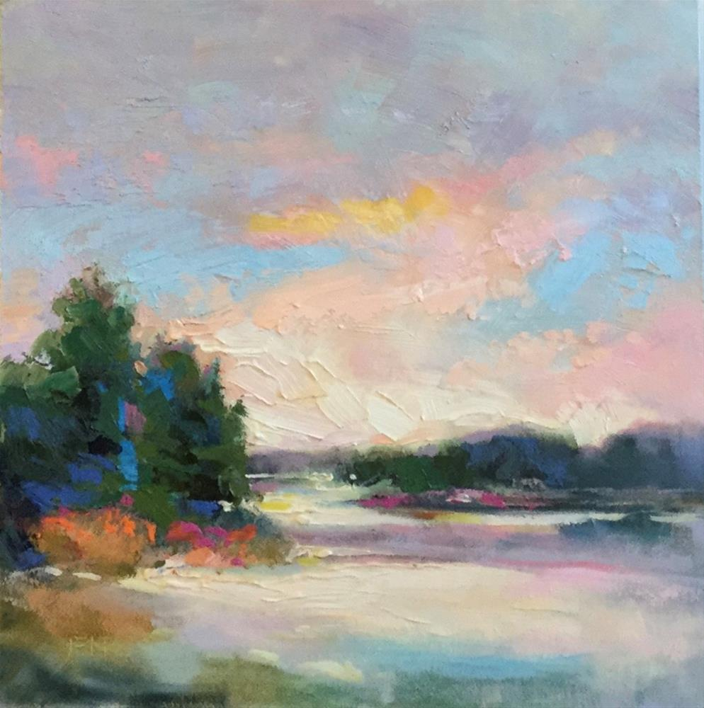 """Afternoon Light"" original fine art by Charlotte Fitzgerald"