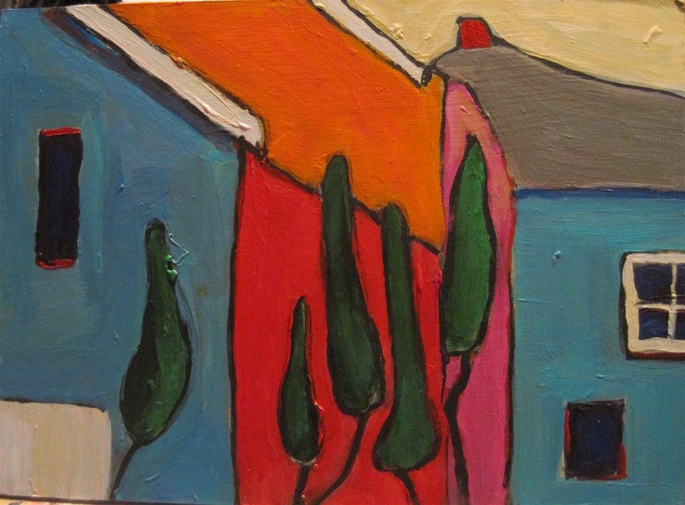 """Dr. Seuss Lives Here"" original fine art by Diane Campion"