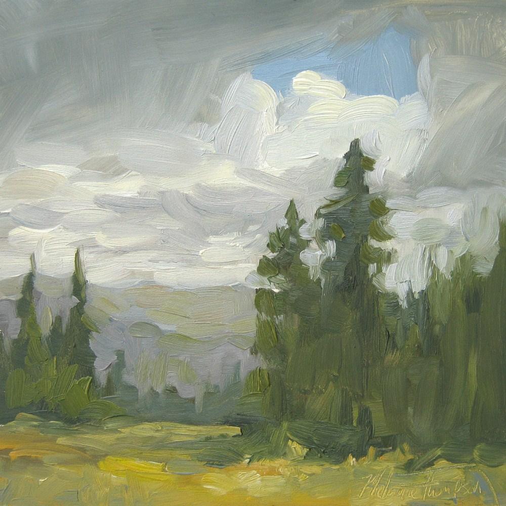 """Cloud Break Over Hell's Canyon"" original fine art by Melanie Thompson"