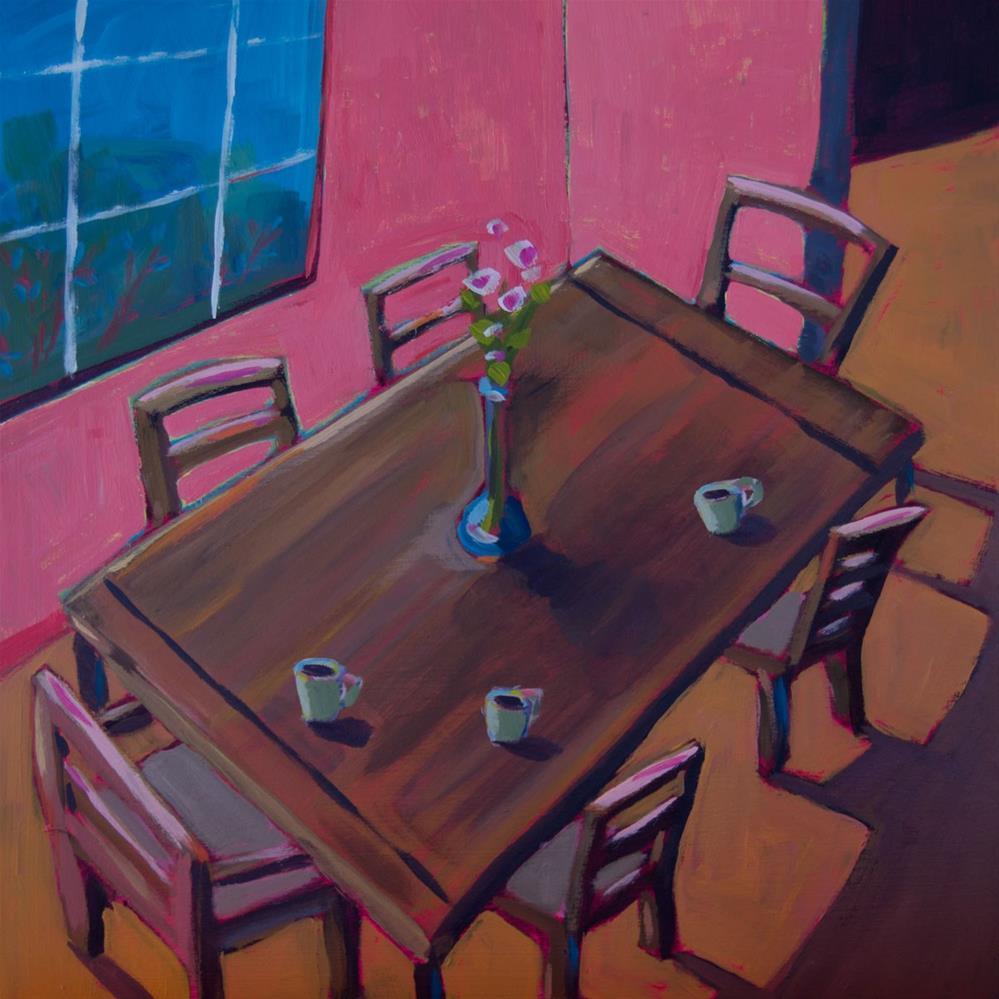 """0411: Waiting for a Friend"" original fine art by Brian Miller"