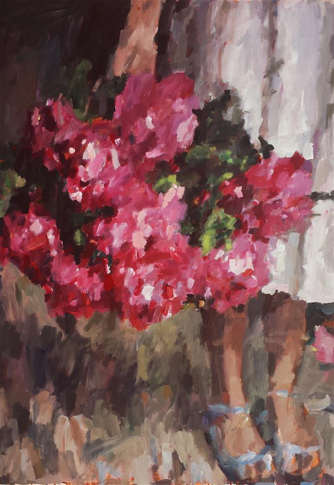 """She is Loved"" original fine art by Nava Judith"
