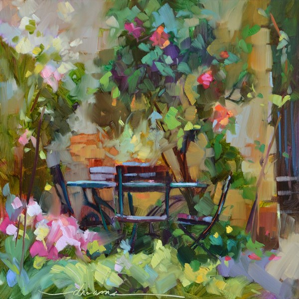"""""""The Invitation"""" original fine art by Dreama Tolle Perry"""